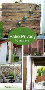 Backyard Screens Outdoor by Best 25 Patio Privacy Ideas On Pinterest Backyard Privacy