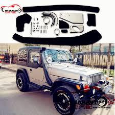 jeep yj snorkel citycarauto air intake snorkel kit 1999 2006 06 wrangler tj airflow