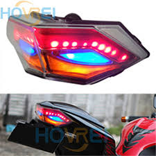 ninja 300 integrated tail light new motorcycle led taillight turn signal l tail lights for