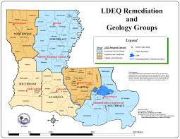 Louisiana Highway Map Donner Properties Oil And Gas Properties Available For Leasing
