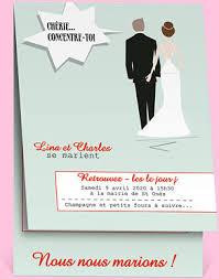 faire part de mariage humoristique 3 catégories de faire part pour mon mariage bonheur et compagnie