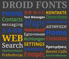 fonts for android system fonts for android look clean and y