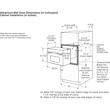 Ge Wall Mount Oven Wall Oven Dimensions Ideas To Wall Decorations
