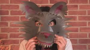 Wolf Mask How To Make A Werewolf Mask Video Dailymotion