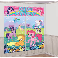 birthday party wall murals cake ideas and birthday decorations scene setter happy birthday party wall decoration decor horses ebay