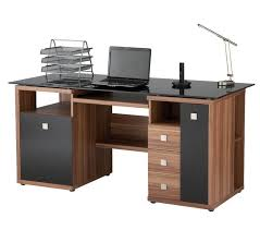 Computer Work Station Desk Large Pc Desk Modern Design Ideas Contemporary Computer Home