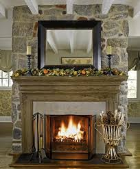 Decorating Fireplace Mantels with Mirror