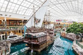 west edmonton mall in alberta canada editorial photography image