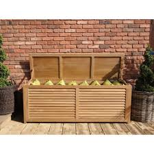 fsc teak 1 8m outdoor cushion storage outdoor commercial