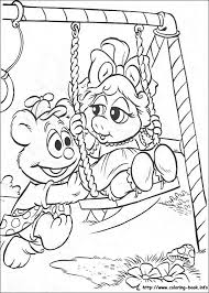 muppet babies pictures colouring pages free printable coloring