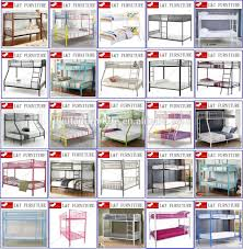 Metal Bedroom Furniture Home Bedroom Furniture Single Double Queen King Size Kids Bed