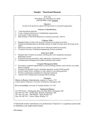 sle functional resume functional resume sle for project manager archives aceeducation
