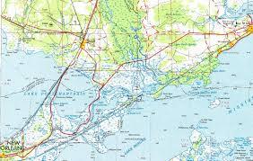 louisiana highway map tammany family town of pearl river louisiana s gateway to the