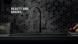 touch on touch off faucet with touch u2082o technology delta faucet