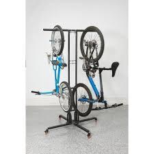 Ceiling Mount Storage by Bikes Saris Cycleglide 4 Bike Ceiling Mount Storage Rack Wooden