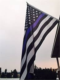 Thin Blue Line Flag Us Police Thin Blue Line Stripe Flag 3 U0027x5 U0027 Support Police U0026 Law