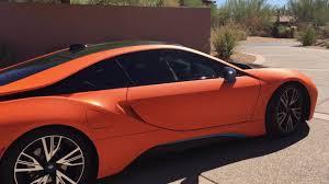 Bmw I8 Orange - driving a bmw i8 in scottsdale arizona youtube