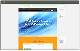 online event registration software websites planning pod build