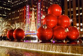Christmas Tree Ideas 2015 Red Christmas In New York City