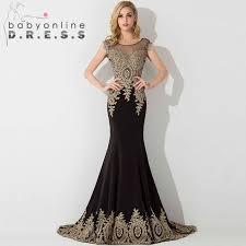 All Black Prom Dress Online Get Cheap Long Elegant Prom Dresses Aliexpress Com