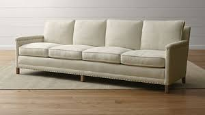 extra long sofa crate and barrel