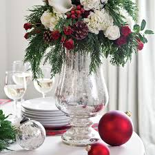 Christmas Floral Table Centerpieces by Christmas Floral Centerpieces Paula Deen Magazine