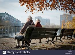 bench berlin berlin germany retired on a park bench some rest stock photo
