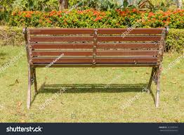 d wooden park bench vector stock shutterstock pictures on