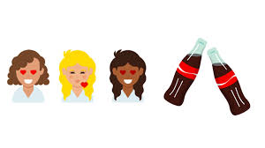 coke in curly hair these 4 brands are embracing the twitter emoji craze adweek