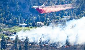 Wildfire Update by Update At Least One House Fully Engulfed In Kaleden Wildfire
