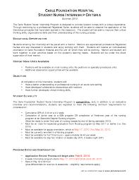 nursing graduate cover letter nurse intern cover letter letter