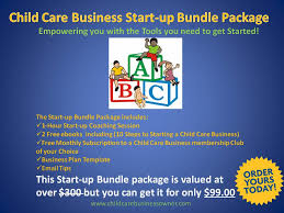 childcare business cards start up bundle package the child care business owner institute