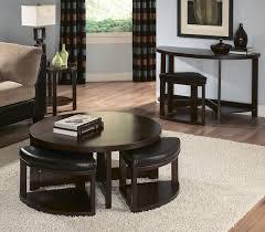 Cherry Wood Sofa Table by Homelegance Brussel Ii Half Moon Wood Sofa Table W 1 Ottoman