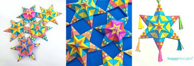 mexican paper ornaments tutorial printable craft templates