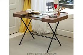 bureau metal et verre bureau metal et bois bureau cosimo noyer et verre bureau style