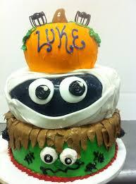 3 tier halloween birthday cake lynn sandy u0027s bakery