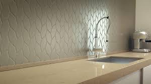 Stone Backsplash In Kitchen Teture Quartz Stone Backsplash And Marble Countertop In Modern