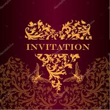 100 luxury invitation design vintage golden frame luxury