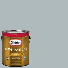 behr premium plus 1 gal ecc 10 2 jet black flat exterior paint glidden premium 1 gal hdgcn65u grey metal flat latex exterior