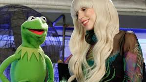 gaga to celebrate thanksgiving with the muppets rolling