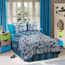 Queen Sized Comforters Action Sports 4 Piece Queen Size Comforter Set Free Shipping