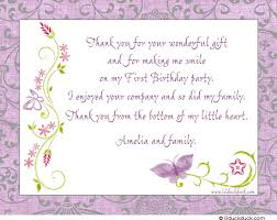 birthday thank you card wording u2013 gangcraft net