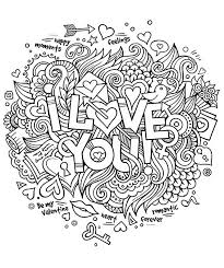 i love you coloring pages for adults funycoloring