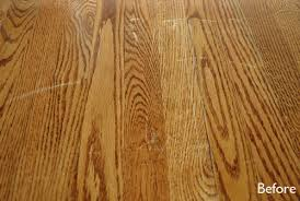 fix for scratched hardwood floors