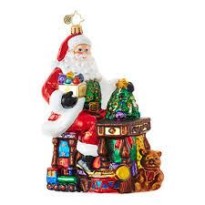 christopher radko ornaments radko santa claus santa s