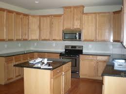 oak cabinets yellow paint kitchen design ideas lavish home design