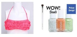 hollar 1 sale includes essie nail polish freebies for a cause