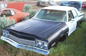 1975 dodge royal monaco blues brothers special patrol car