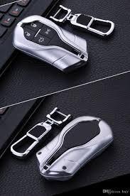rose gold maserati car aluminum car key fob cover case skin shell set bag for maserati