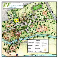Michigan Campus Map by Campus Map U0026 Photos The Leelanau